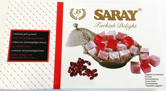 Turkish Delight - Saray - Narli Lokum (granátové jablko) 400g