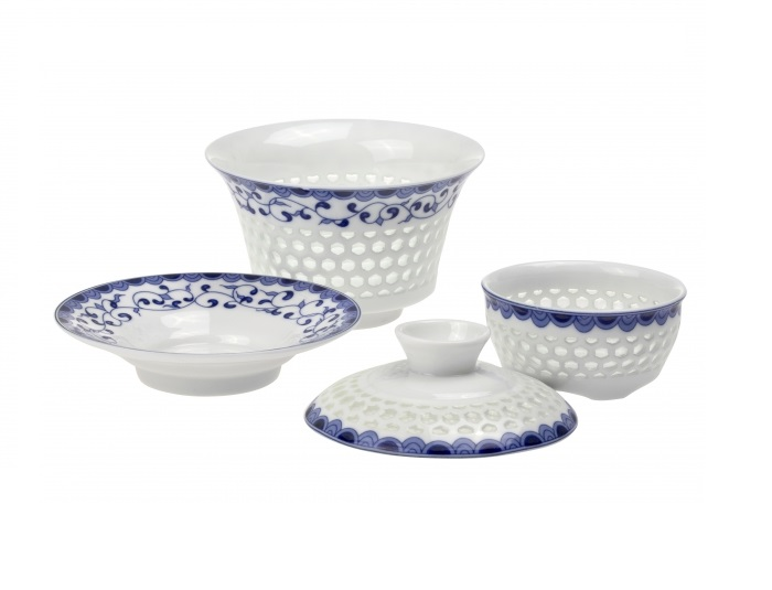Zhong BAILAN - porcelánový set