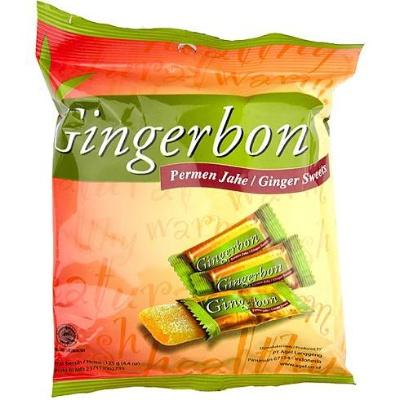 Gingerbon 125 g - zázvorové bonbony