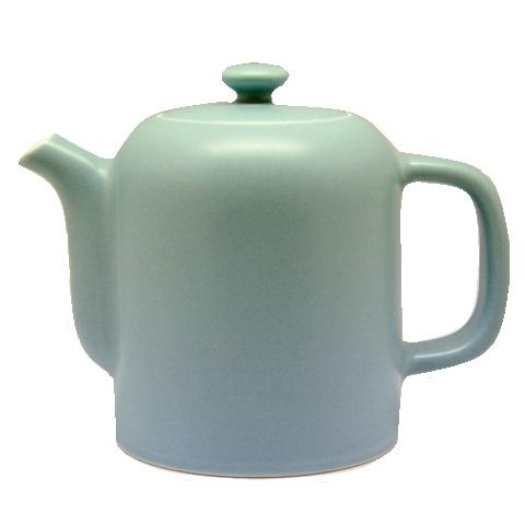 Čajová porcelánová konvice FUGU modrá