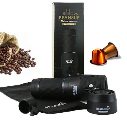 BEANS UP DualPresso - Portable Espresso Machine