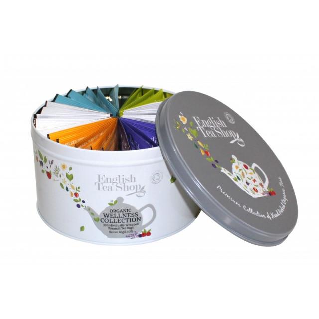 ETS - Tea Collection Pyramide - Wellness, 30 pyramidek