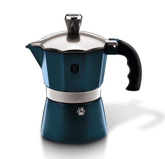 Coffee Maker BERLINGERHAUS Blue - 3 cups