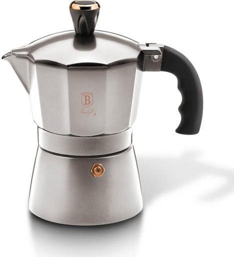 Coffee Maker BERLINGERHAUS Silver - 3 cups