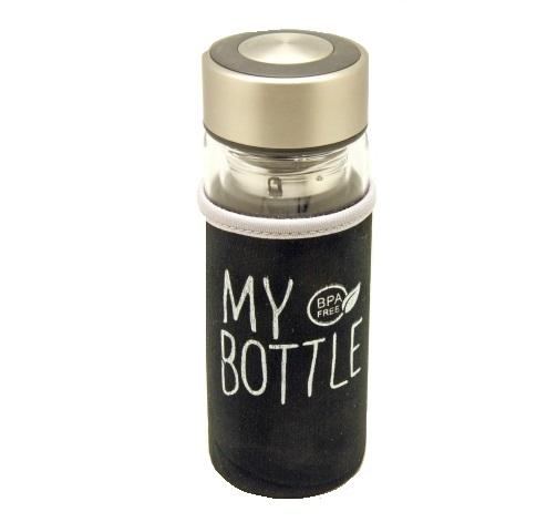 Skleněná termoska My Bottle s obalem