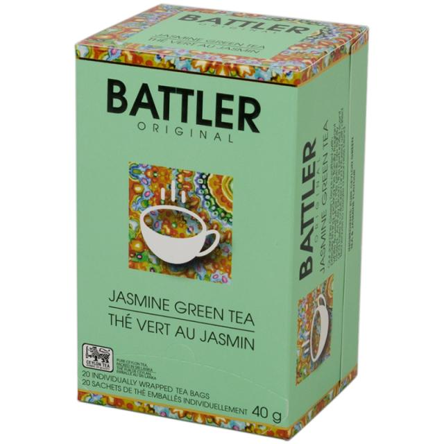 BATTLER - Jasmine Green Tea 40g (20 sáčků)