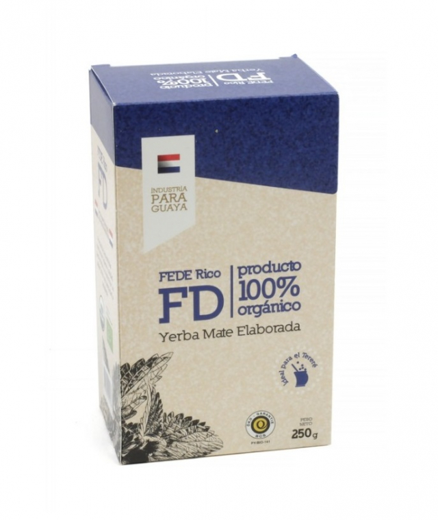 Yerba Mate - Fede Rico Organic, 250g