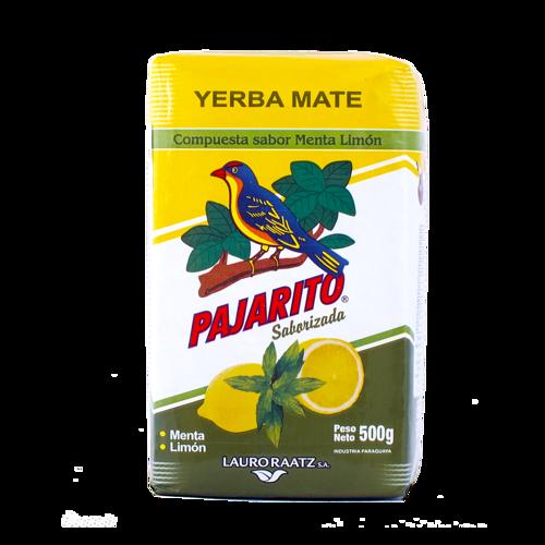 Yerba Mate - Pajarito Menta - Limón,  500g