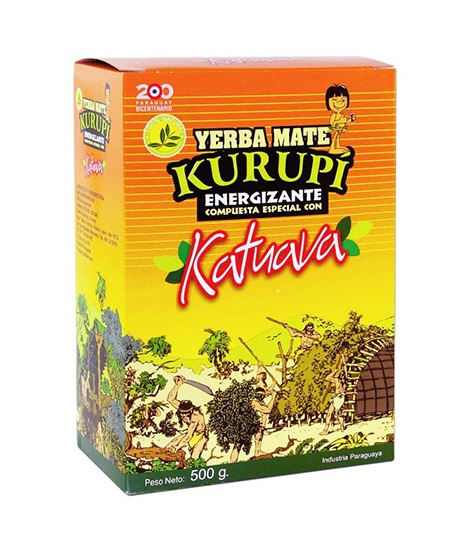 Yerba Mate - Kurupi Catuava 500g