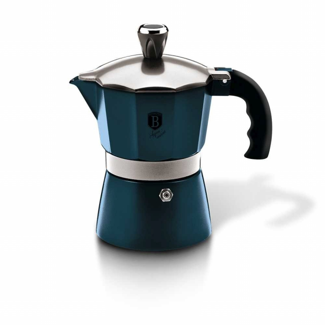 Coffee Maker BERLINGERHAUS Blue - 2 cups