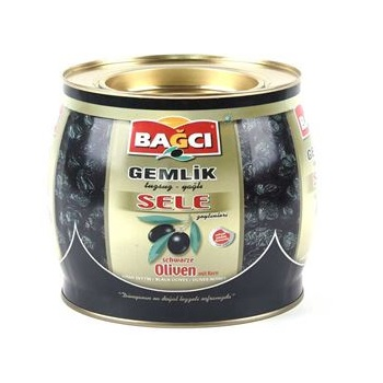 Bagci Sele Zeytinleri BIG - turecké olivy - 1,5 kg