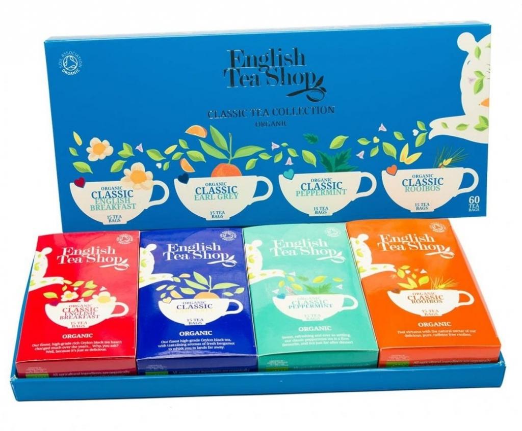 ETS - Classic Tea Collection (blue), 60 sáčků