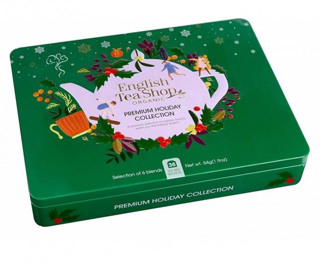 ETS - Tea Collection Premium Holiday GREEN, 36 sáčků