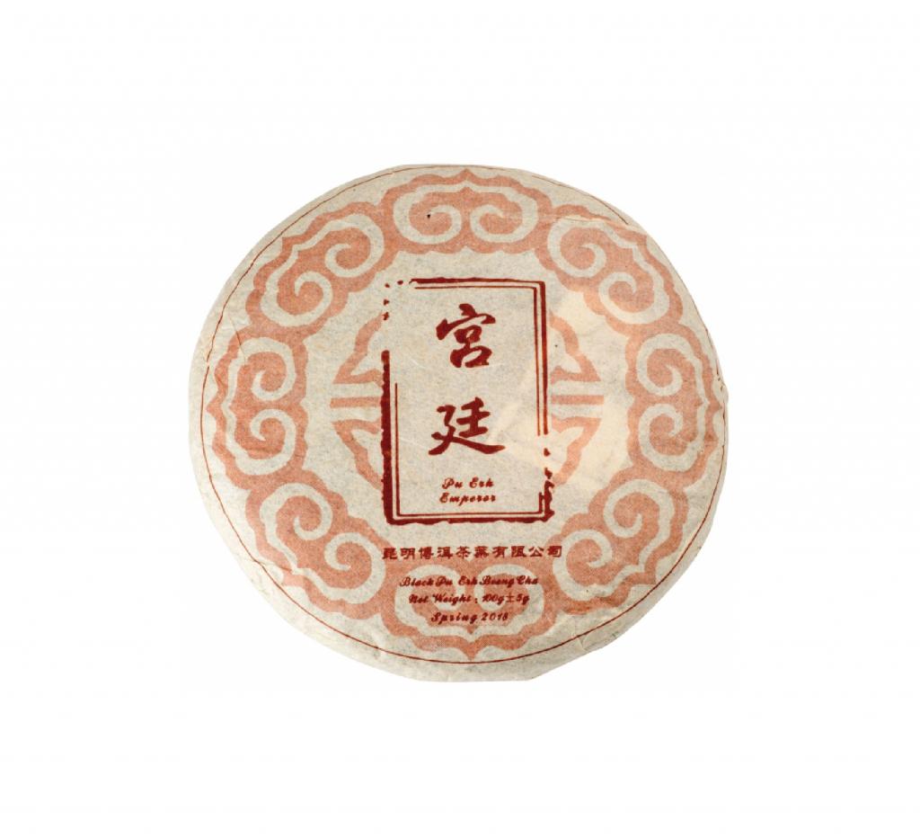Pu Erh Emperor Beeng Cha Shu 100g