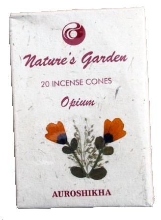 Indické vonné jehlánky Nature´s Garden - Opium