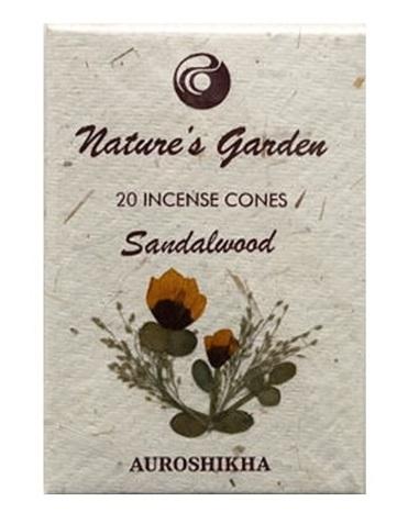 Indické vonné jehlánky Nature´s Garden - Sandalwood