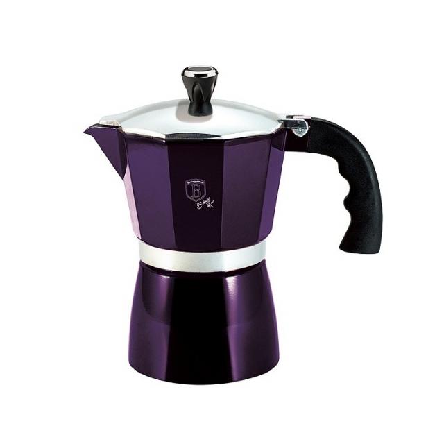 Coffee Maker BERLINGERHAUS Purple - 3 cups