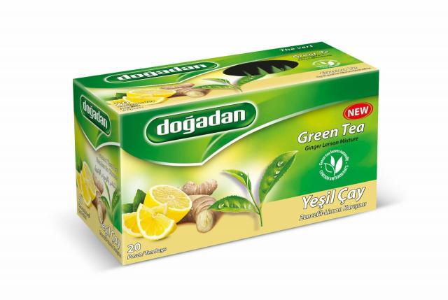 Dogadan - Green Tea, Ginger Lemon Mixture - 40g (20 sáčků)
