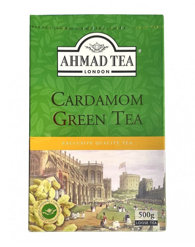 Ahmad - Cardamom Green Tea 500g