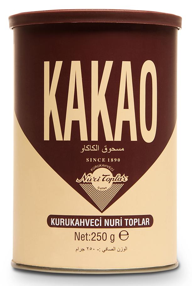 Kakao KURUKAHVECI NURI TOPLAR 250g