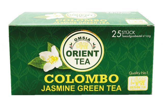 COLOMBO - Jasmine Green Tea  50g (25 sáčků)