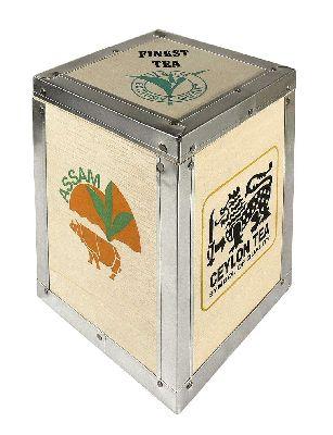 Dřevěná krabička TEA BOX