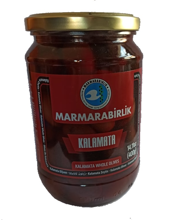 Marmarabirlik Kalamata - turecké olivy s peckou - 700g
