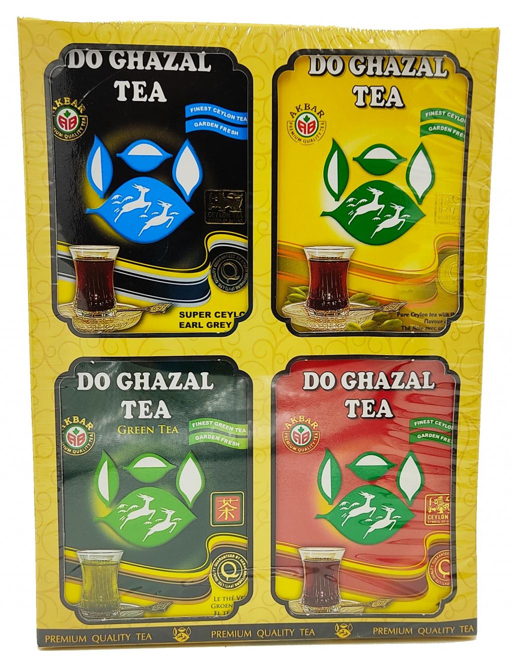 Do Ghazal Tea - Tea Collection 4 x 100g