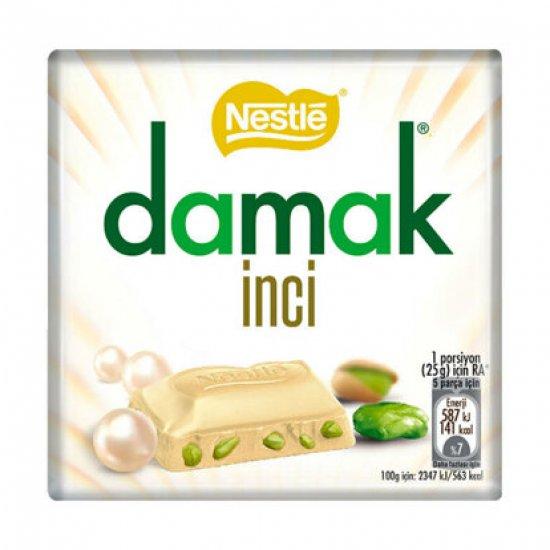 DAMAK - Chocolate Pistachios Inci White (bílá) 63g