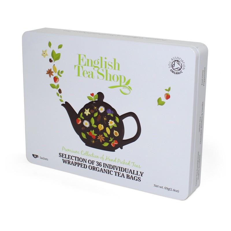 ETS - Tea Collection Premium, 36 sáčků
