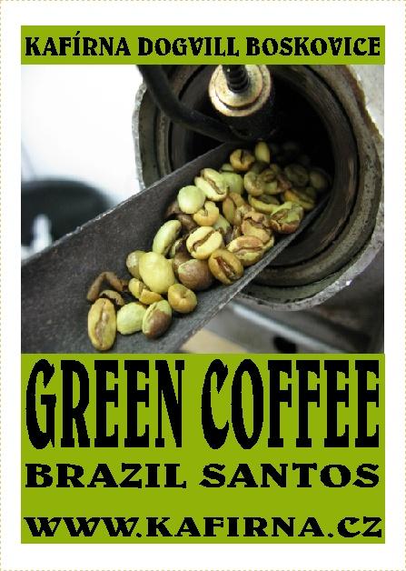 GREEN COFFEE - zrnková zelená káva