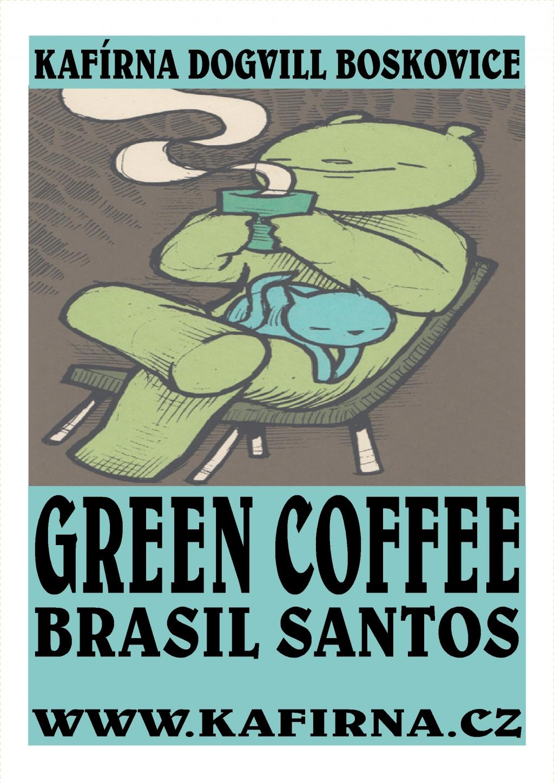 GREEN COFFEE - mletá zelená káva