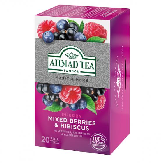 Ahmad - Mixed Berries & Hibiscus 40g (20 sáčků)
