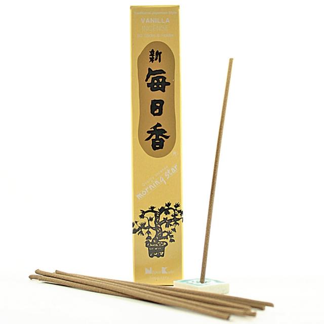 Japonské vonné tyčinky Nippon Vanilla 50 ks