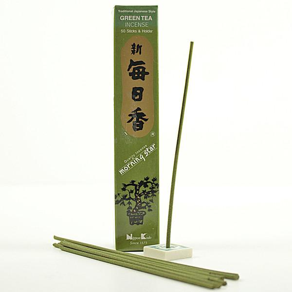 Japonské vonné tyčinky Nippon Green Tea 50 ks