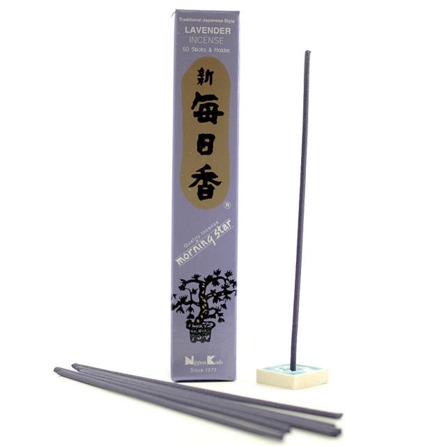 Japonské vonné tyčinky Nippon Lavender 50 ks