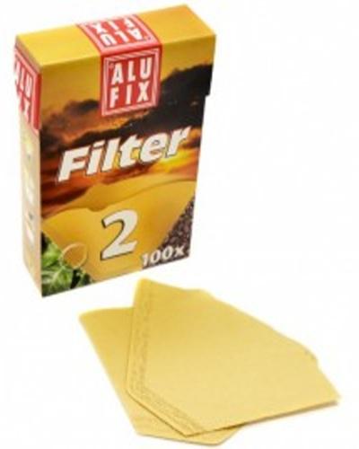 Kávové filtry Alu fix č. 2 - 100 ks
