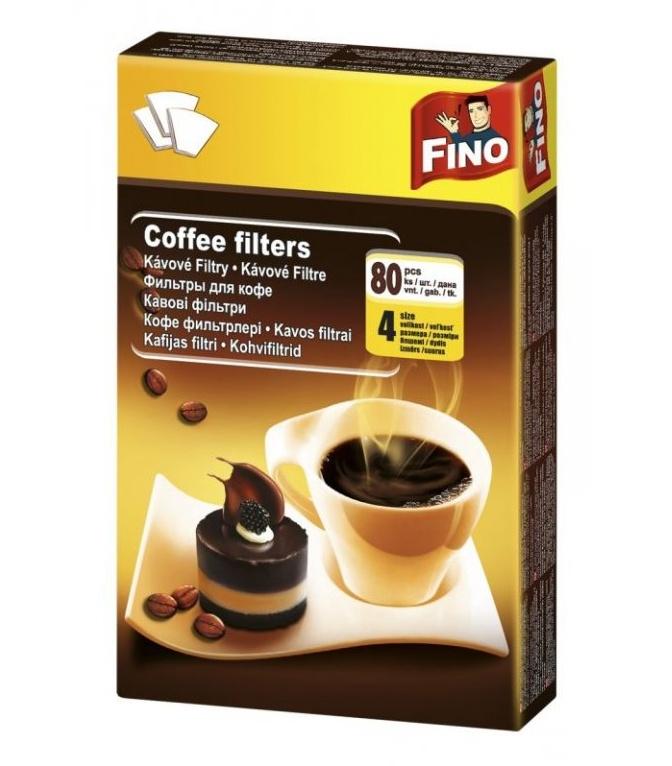 Kávové filtry Alu fix č. 4 - 100 ks