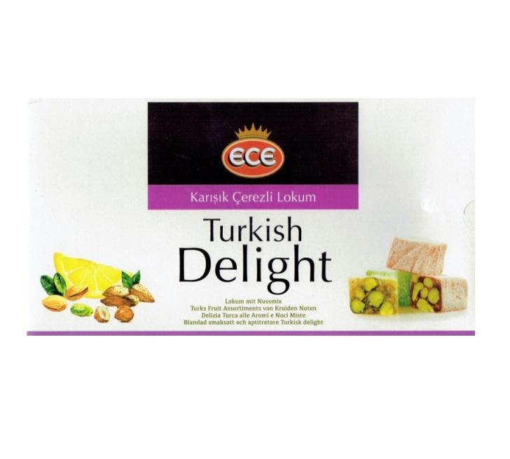 Turkish Delight - ECE - Karisik Cerezli Lokum 454 g