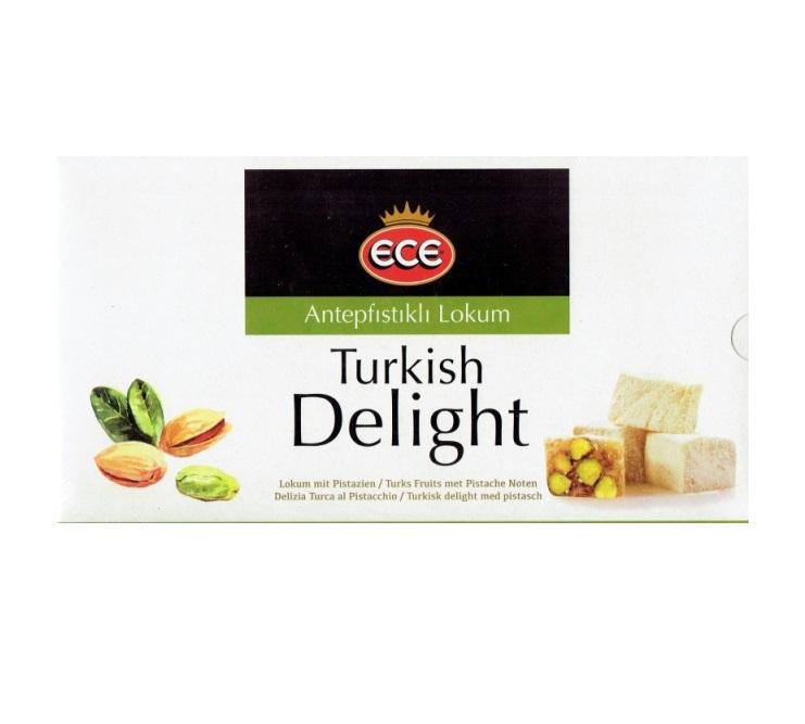 Turkish Delight - ECE - Antepfistikli Lokum 454g